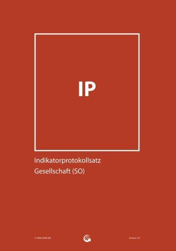 Indikatorprotokollsatz Gesellschaft (SO) - Global Reporting Initiative
