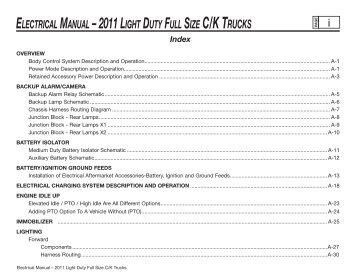 Gtmxd magazines electrical manual 2011 light duty full size ck trucks gm upfitter sciox Choice Image