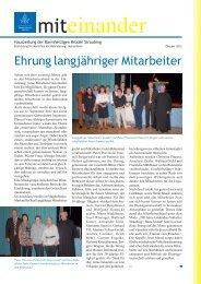 Oktober 2012 - Barmherzigen Brüder Straubing
