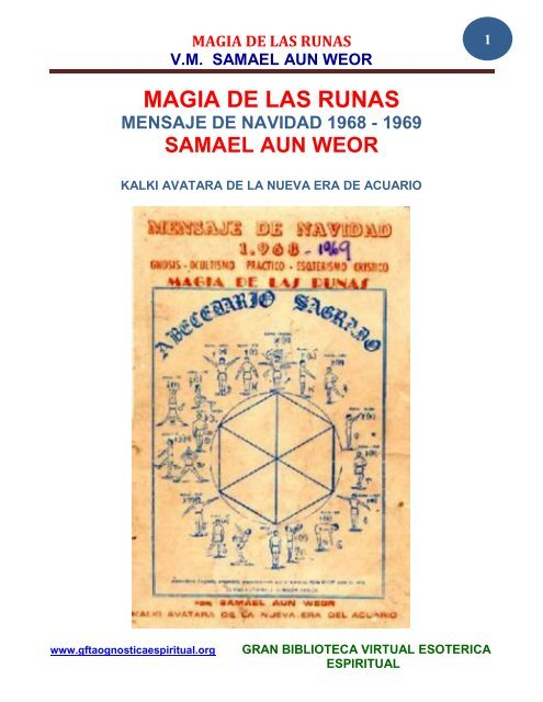 De Gran Runas Magia Las Fratervidad Tao Espiritual Gnóstica TK1J3lFc