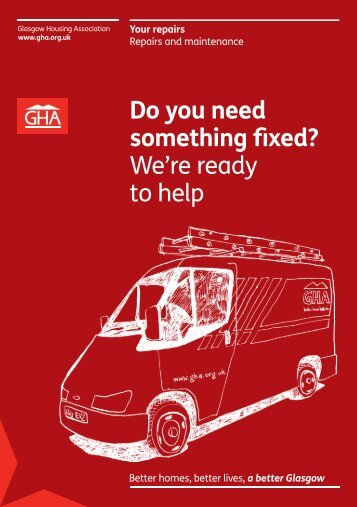 Do you need something fixed? We're ready to help - Glasgow ...