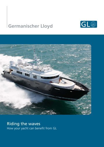 Yachts brochure - GL Group