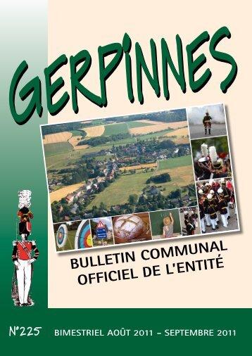 août - Gerpinnes