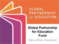 Global Partnership for Education Fund