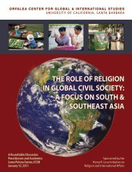 a focus on south & southeast asia - Global and International Studies ...