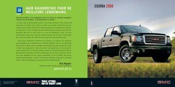 SIERRA 2008 - GM Canada
