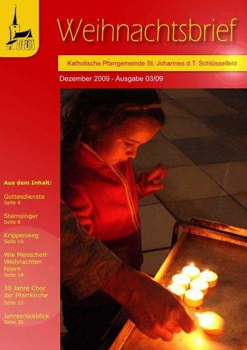 Bilder eines Jahres - Erzbistum Bamberg