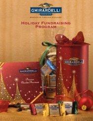 Holiday Fundraising Program Brochure (PDF) - Ghirardelli