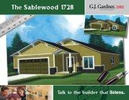 The Sablewood 1728 - G.J. Gardner Homes