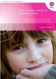 Algemene brochure GGzE centrum kinder- en jeugdpsychiatrie