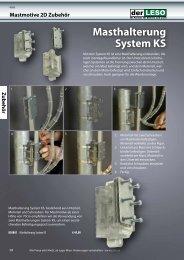 Masthalterung System KS