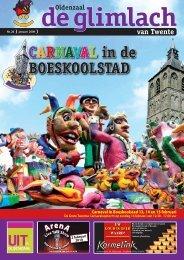 CARNAVAL in de BOESKOOLSTAD - Glimlach van Twente