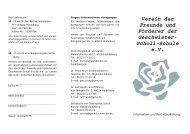 Beitrittserklärung herunterladen - Geschwister-Scholl-Schule