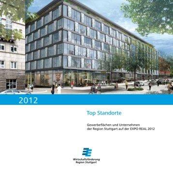 Top Standorte - Die Region Stuttgart auf der EXPO REAL 2012