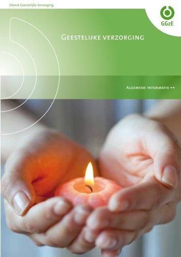 brochure Dienst geestelijke verzorging - GGzE