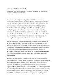 war was faul im Staate Deutschland - Gerd Koenen