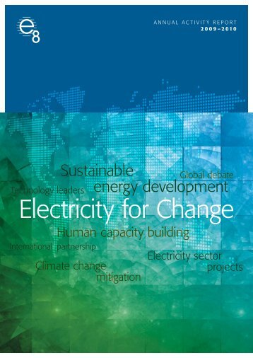 June 2010 PDF - 24 pages - Global Sustainable Electricity Partnership