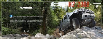 Hummer H2 2008 - GM Canada
