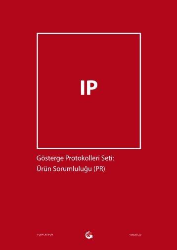 Gösterge Protokolleri Seti: Ürün Sorumluluğu (PR) - Global ...