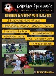 Ausgabe 12/2013-14 vom 11.11.2013