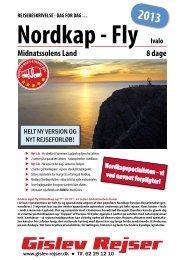 Nordkap - Fly Ivalo 8 dage Midnatssolens Land ... - Gislev Rejser