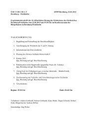 10. Sitzung 22.01.2013 - Gemeinde Dornburg