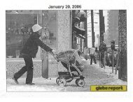 Glebe Report - Volume 36 Number 1 - January 20 2006