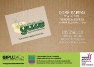 GONBIDAPENA INVITACION - Emekin