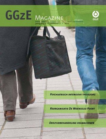 Lees meer op bladzijde 8 van het GGzE Magazine