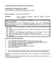 Packungsbeilage - Glenwood GmbH
