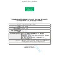 ObsPy - Geophysics Homepage - LMU