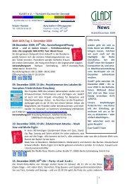 2009-12 GLADT-Newsletter