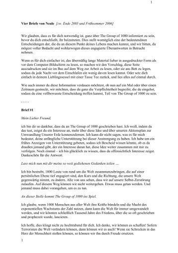 Briefe Von Gott An Mich : Herz innenraum« zu höre