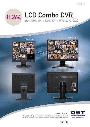 LCD Combo DVR - Gobizkorea