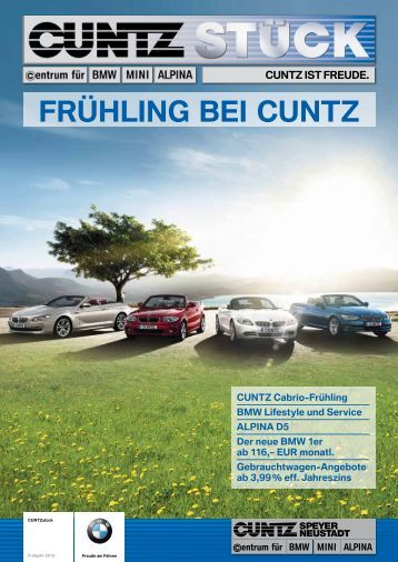 FRühlINg bEI CUNTZ - 2 Mobile