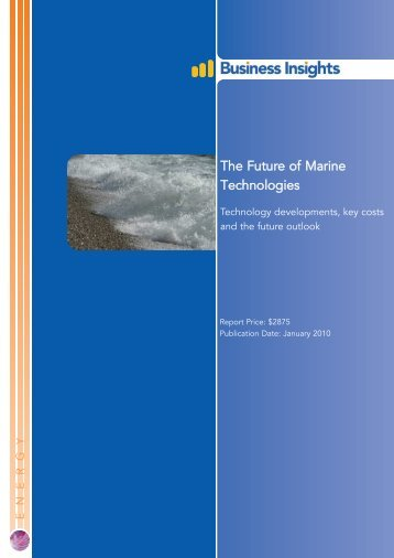 The Future of Marine Technologies - Business Insights
