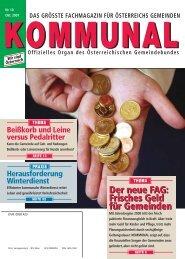 Den Gemeinden - Österreichischer Gemeindebund