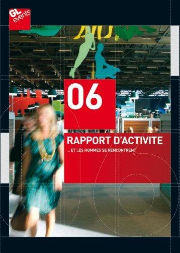 Rapport d'activité 2006 - GL events