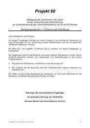 Projekt 60 - GGG-NRW