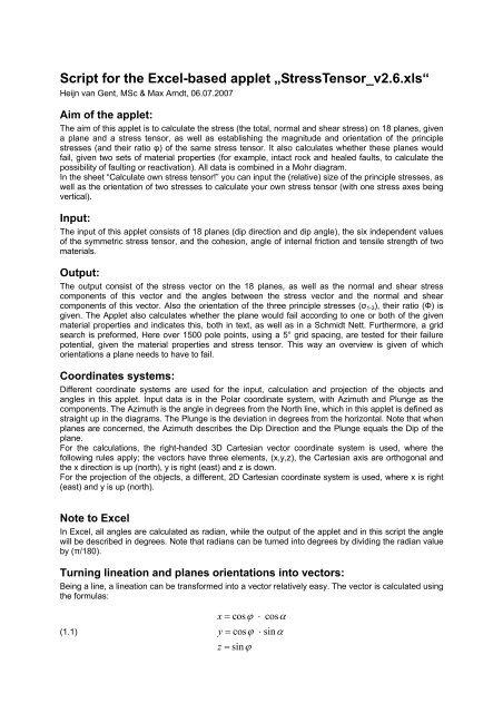 Script for StressTensor_v2 6 (PDF) - Ged rwth-aachen de
