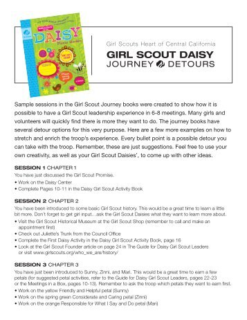 Girl Scout DaiSy - Girl Scouts Heart Of Central California