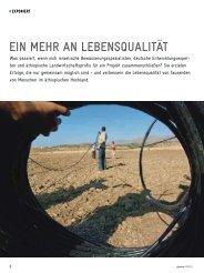 Bewässerung in Äthiopien - GIZ