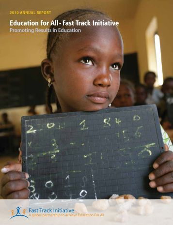Education for All - Fast Track Initiative - Global Partnership for ...