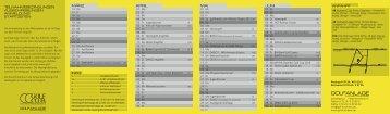 GCKW Wettspielkalender 2013 - Golfclub Kirchheim-Wendlingen