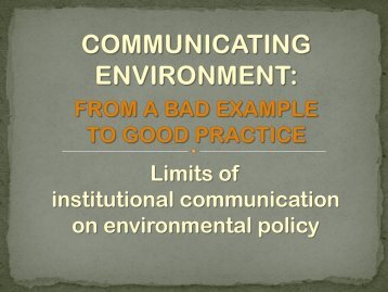 Presentazione standard di PowerPoint - Go.. Green.. Now!