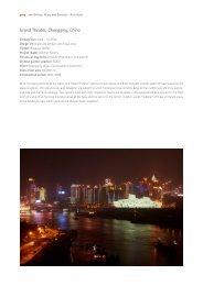 Grand Theater, Chongqing, China - gmp Architekten von Gerkan ...