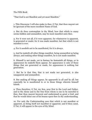 the liber hermetis trismegistus pdf