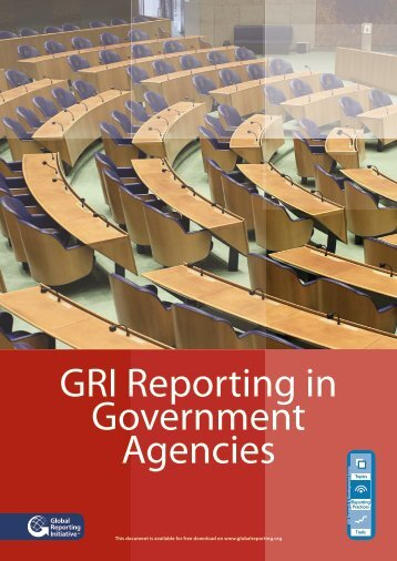 Download GRI Reporting in Government Agencies - Global ...