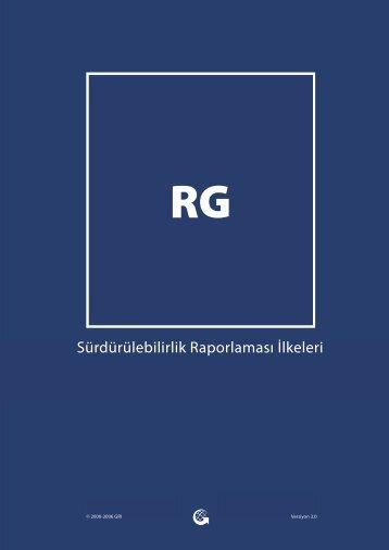 GRI Sürdürülebilirlik Raporlaması İlkeleri - Global Reporting Initiative