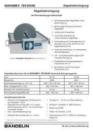 Td 24720 i Sa de 06 - Bandelin electronic